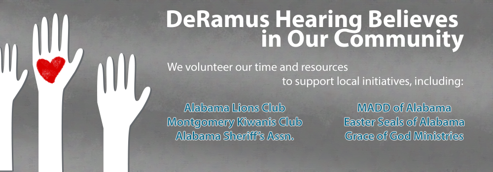 DeRamus Hearing Aid Center, Community Involvement Montgomery AL