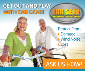 ear gear, deramus hearing centers