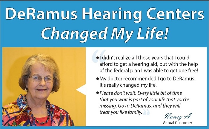 DeRamus Hearing Centers, federal employee discount